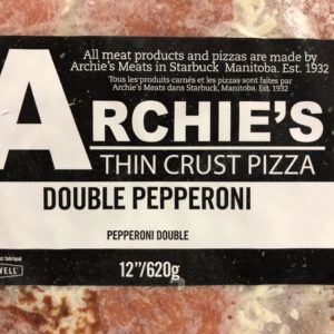 Archie's Thin Crust Pizza