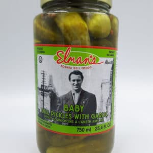 Elman's Baby Dill Pickles with Garlic
