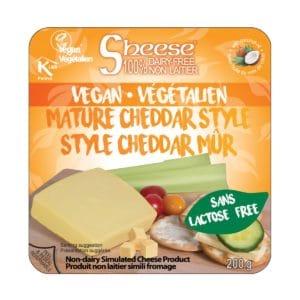 Vegan Mature Cheddar Style Sheese