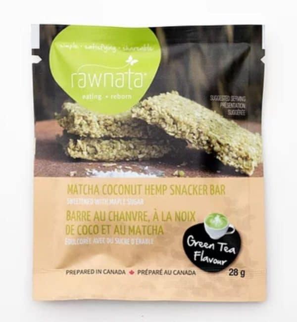 Rawnata Matcha Coconut Hemp Snacker
